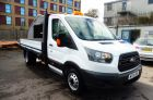 FORD TRANSIT 350 L3 Dropside. ONLY 28000 MILES. CHOICE OF TWO. - 600 - 4